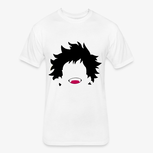 My hero academia Deku design - Fitted Cotton/Poly T-Shirt by Next Level