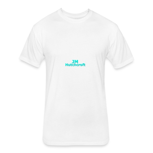 Shoulder Merch - Fitted Cotton/Poly T-Shirt by Next Level