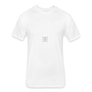 hipsterlogogenerator_1465846340834 - Fitted Cotton/Poly T-Shirt by Next Level