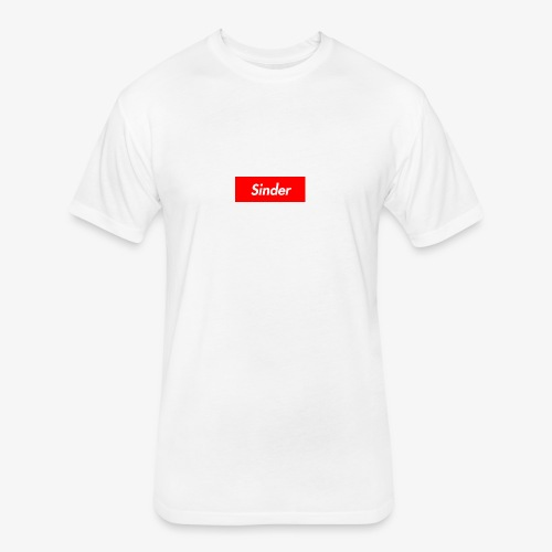 Sinder - Fitted Cotton/Poly T-Shirt by Next Level