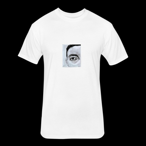 Jaidly - Fitted Cotton/Poly T-Shirt by Next Level