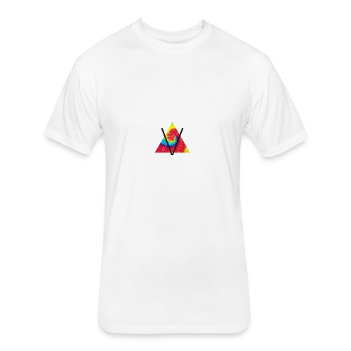 OV1 - Fitted Cotton/Poly T-Shirt by Next Level