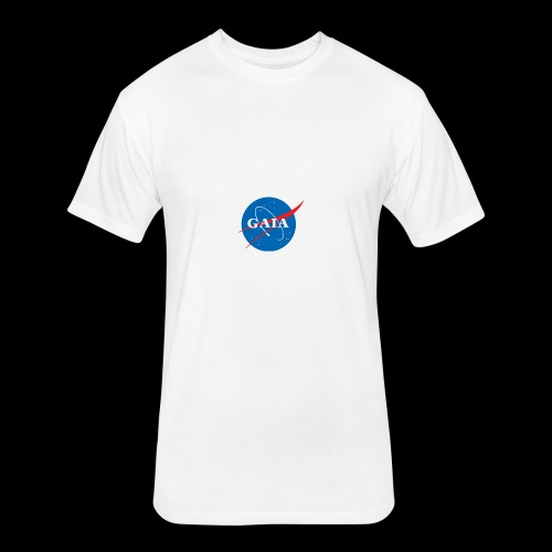Gaia Nasa Logo - Fitted Cotton/Poly T-Shirt by Next Level