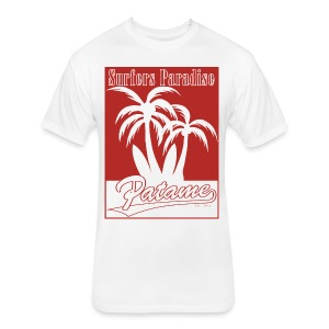 Patame Surfers Paradise Red - Fitted Cotton/Poly T-Shirt by Next Level