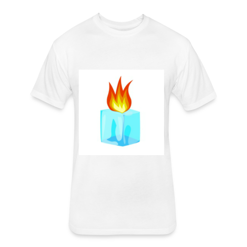 PZKTastic Logo T-Shirt (Get White as the Color) - Fitted Cotton/Poly T-Shirt by Next Level