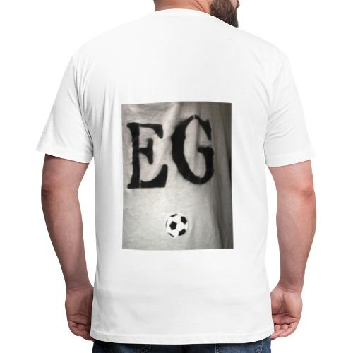 EG soccer Merch - Fitted Cotton/Poly T-Shirt by Next Level