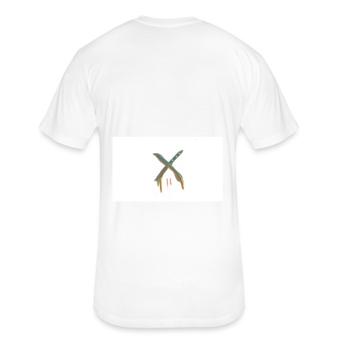 The Crep Architect: X melts - Fitted Cotton/Poly T-Shirt by Next Level