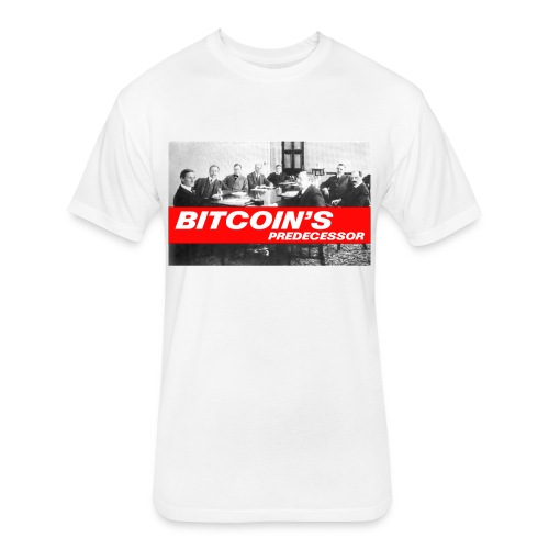 Bitcoin's Predecessor - Fitted Cotton/Poly T-Shirt by Next Level