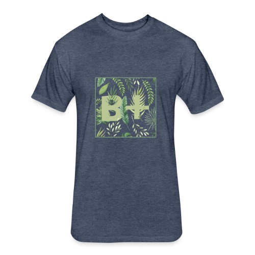 Be positive - Fitted Cotton/Poly T-Shirt by Next Level