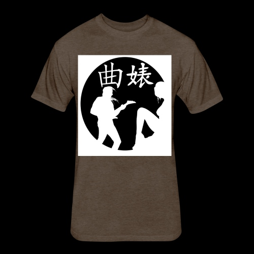 Music Lover Design - Fitted Cotton/Poly T-Shirt by Next Level