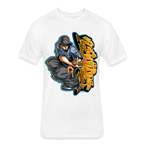 Cholo Hands by RollinLow - Fitted Cotton/Poly T-Shirt by Next Level