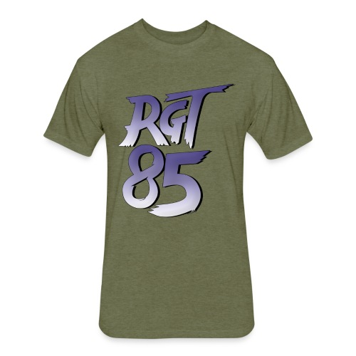 RGT 85 Logo - Fitted Cotton/Poly T-Shirt by Next Level