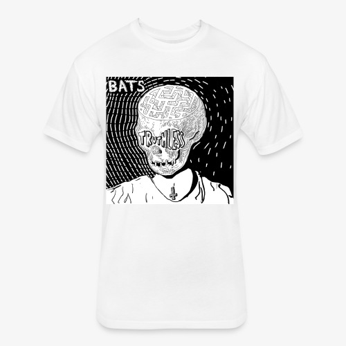 BATS TRUTHLESS DESIGN BY HAMZART - Fitted Cotton/Poly T-Shirt by Next Level
