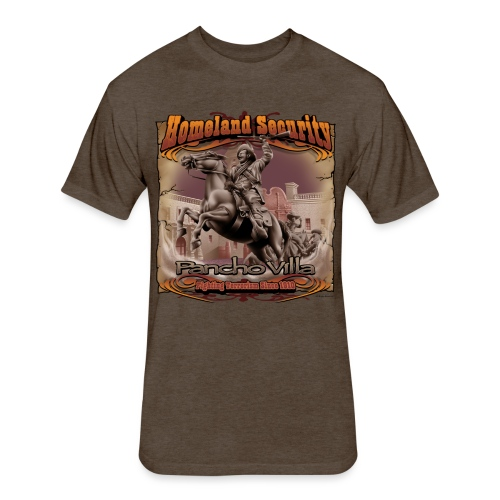Homeland Security by RollinLow - Fitted Cotton/Poly T-Shirt by Next Level