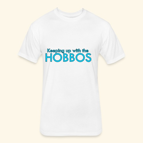 KEEPING UP WITH THE HOBBOS | OFFICIAL DESIGN - Fitted Cotton/Poly T-Shirt by Next Level