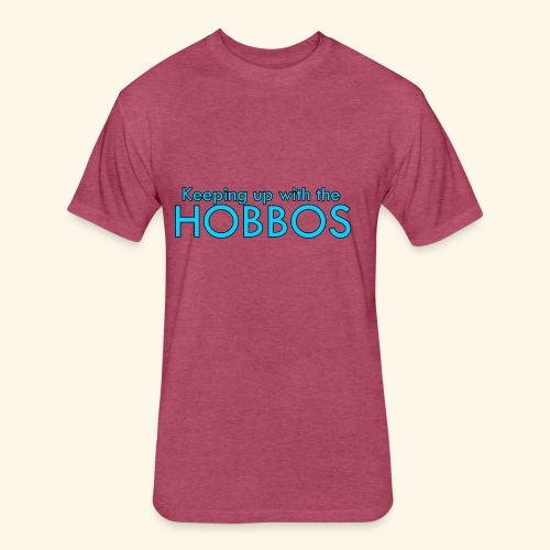 KEEPING UP WITH THE HOBBOS   OFFICIAL DESIGN - Fitted Cotton/Poly T-Shirt by Next Level