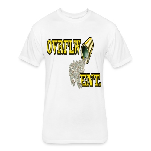OVRFLW - Fitted Cotton/Poly T-Shirt by Next Level