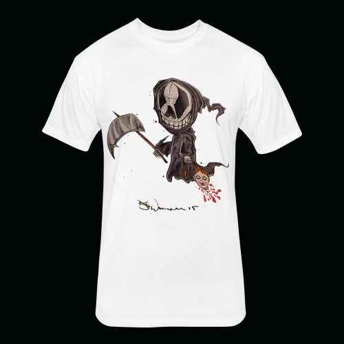 Doll reaper png - Fitted Cotton/Poly T-Shirt by Next Level