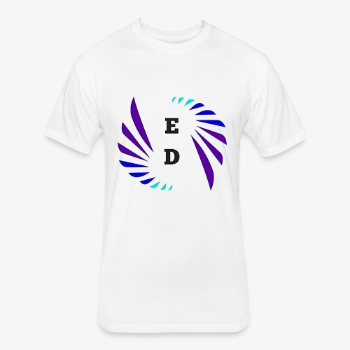 Entertainment Daily Logo - Fitted Cotton/Poly T-Shirt by Next Level