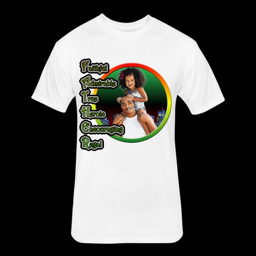 Father 2 - Fitted Cotton/Poly T-Shirt by Next Level