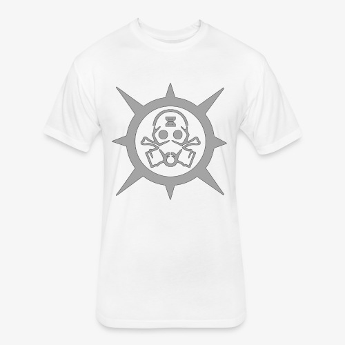 Gear Mask - Fitted Cotton/Poly T-Shirt by Next Level