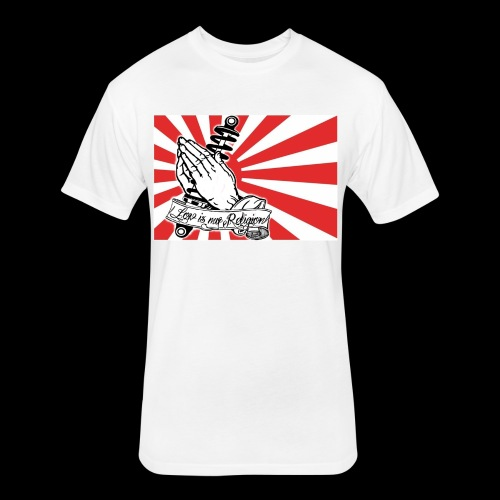 JDM-LowIsMyReligion - Fitted Cotton/Poly T-Shirt by Next Level