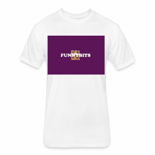 funny bits t - Fitted Cotton/Poly T-Shirt by Next Level