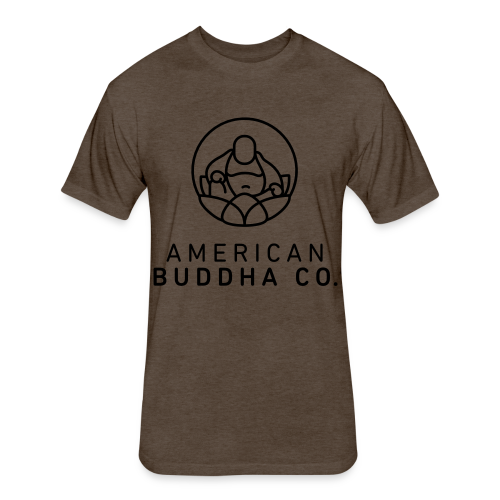 AMERICAN BUDDHA CO. ORIGINAL - Fitted Cotton/Poly T-Shirt by Next Level