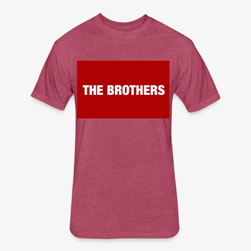 The Brothers - Fitted Cotton/Poly T-Shirt by Next Level