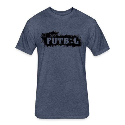 Futbol - Fitted Cotton/Poly T-Shirt by Next Level