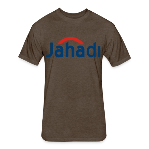 JustHadi - Fitted Cotton/Poly T-Shirt by Next Level