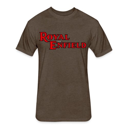 Royal Enfield - AUTONAUT.com - Fitted Cotton/Poly T-Shirt by Next Level