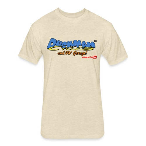 DuckmanCycles and VWGarage - Fitted Cotton/Poly T-Shirt by Next Level