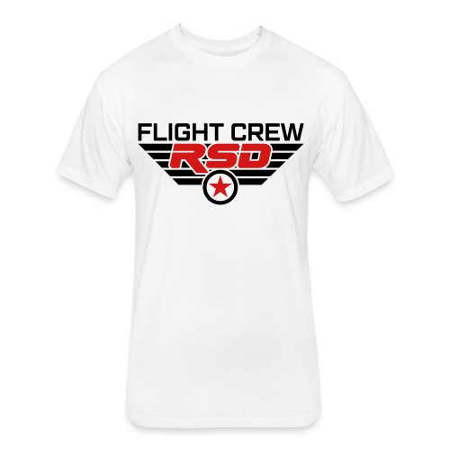 RSD Flight Crew - Fitted Cotton/Poly T-Shirt by Next Level