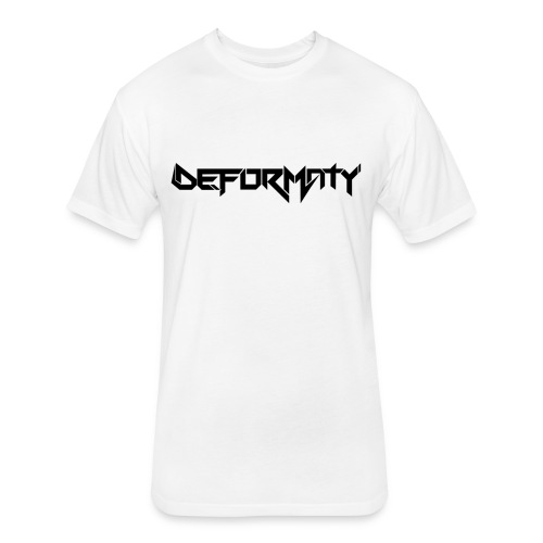 Deformaty Logo Black - Fitted Cotton/Poly T-Shirt by Next Level