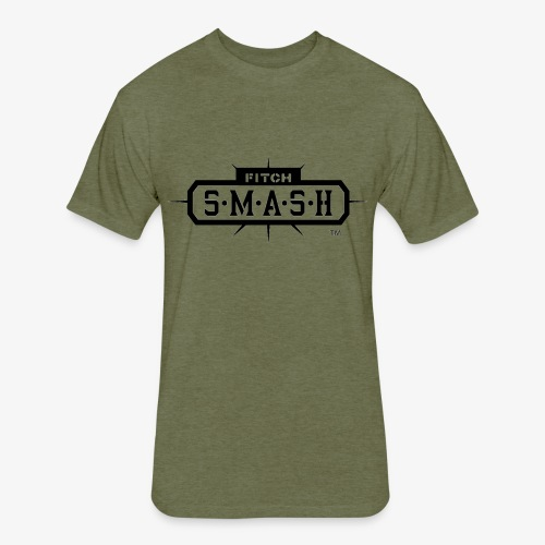 Fitch SMASH LLC. Official Trade Mark 2 - Fitted Cotton/Poly T-Shirt by Next Level
