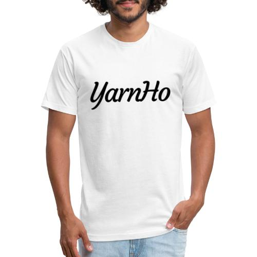 YarnHo 2 - Fitted Cotton/Poly T-Shirt by Next Level