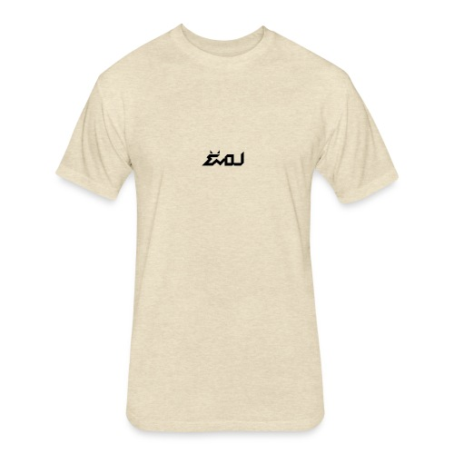 evol logo - Fitted Cotton/Poly T-Shirt by Next Level