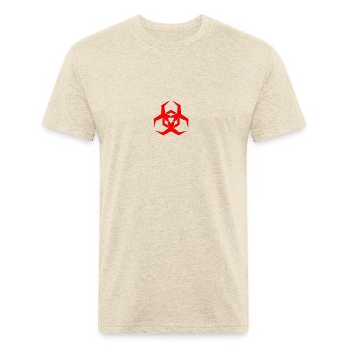 HazardMartyMerch - Fitted Cotton/Poly T-Shirt by Next Level