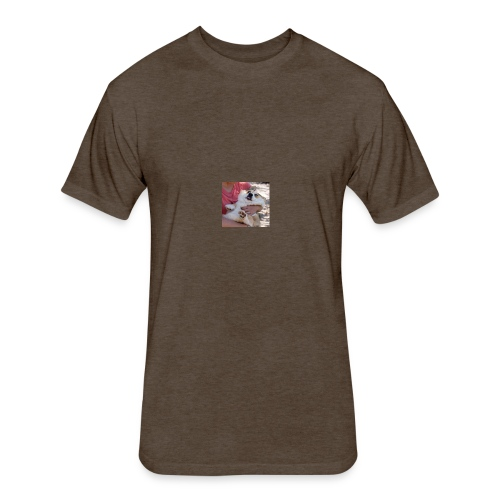 derp - Fitted Cotton/Poly T-Shirt by Next Level