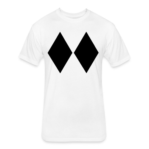 Double Black Diamond - Fitted Cotton/Poly T-Shirt by Next Level
