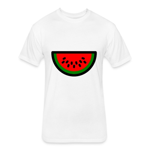 SJW1 - Fitted Cotton/Poly T-Shirt by Next Level