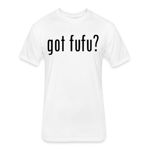 gotfufu-black - Fitted Cotton/Poly T-Shirt by Next Level