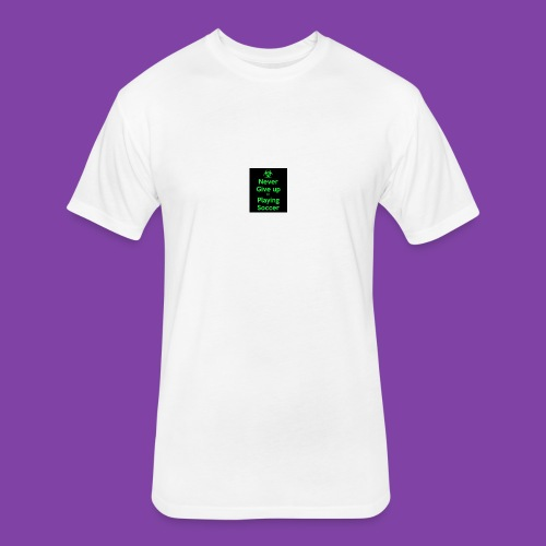 thA573TVA2 - Fitted Cotton/Poly T-Shirt by Next Level
