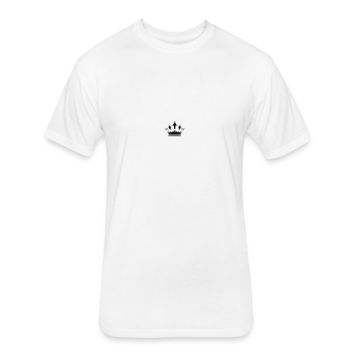 Royalty Talk - Fitted Cotton/Poly T-Shirt by Next Level