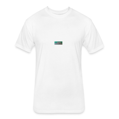 SleepNeuralizerWords - Fitted Cotton/Poly T-Shirt by Next Level