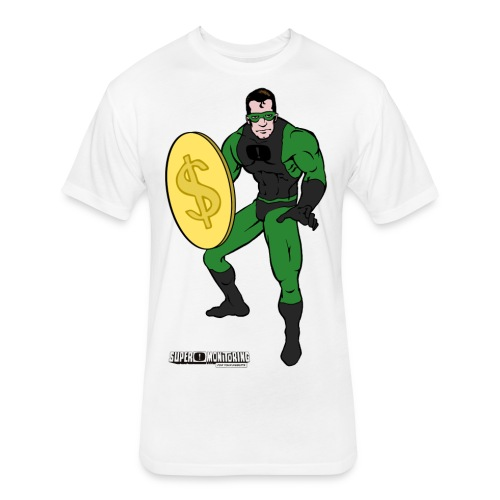 Superhero 4 - Fitted Cotton/Poly T-Shirt by Next Level