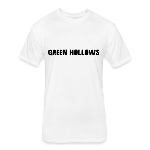 Green Hollows Merch - Fitted Cotton/Poly T-Shirt by Next Level