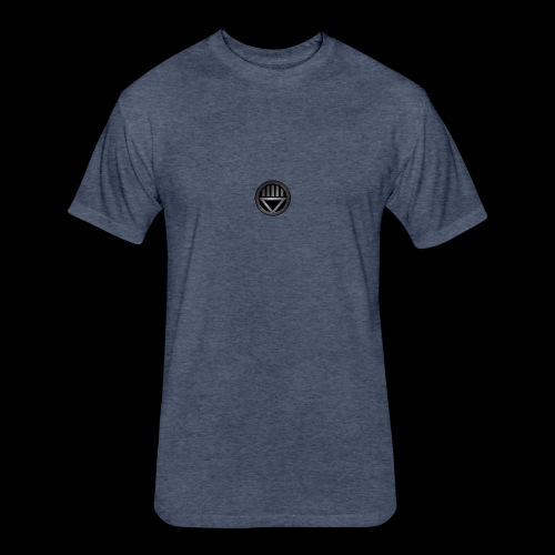 Knight654 Logo - Fitted Cotton/Poly T-Shirt by Next Level