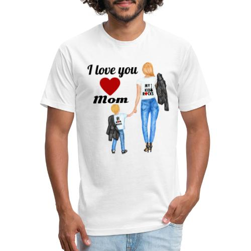 Mother's day gift from daughter, Mother's Day Gift - Fitted Cotton/Poly T-Shirt by Next Level